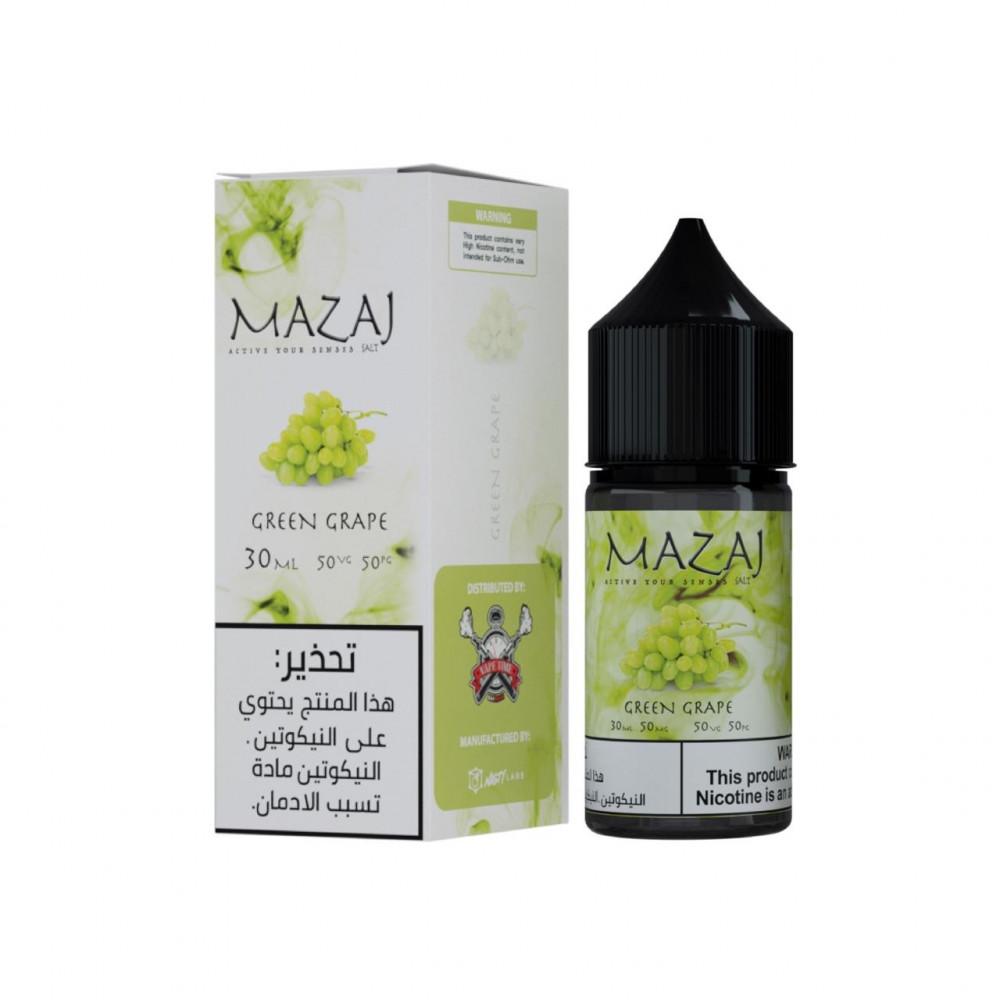 مزاج عنب اخضر سولت 30 مل MAZAG GREEN GRAPE SALT