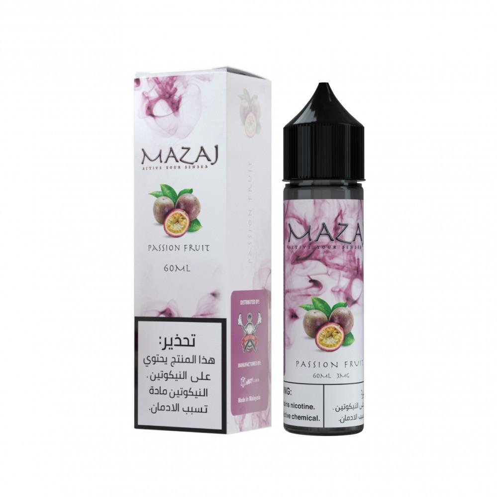 نكهة مزاج باشن فروت فيب 60 مل Mazaj Passion Fruit Vape