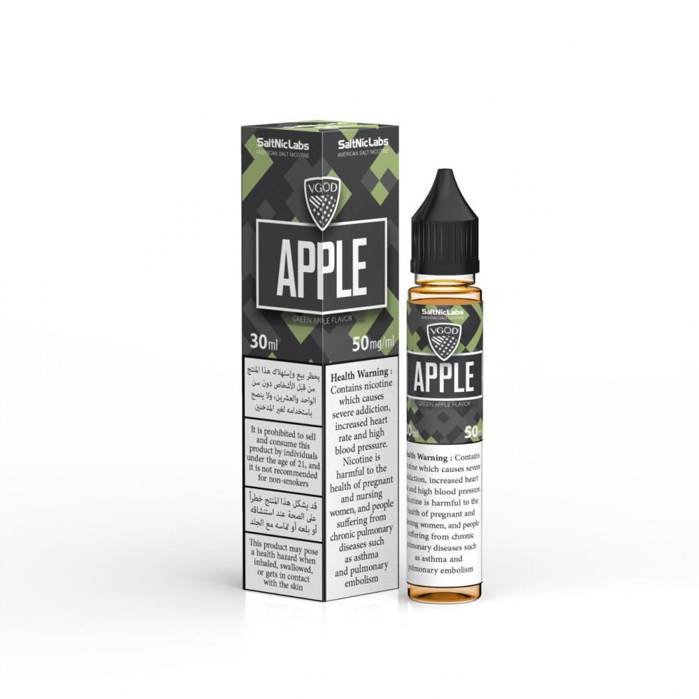 في جود بومب تفاح اخضر سالت 30 ملApple Bomb Salt  VGOD