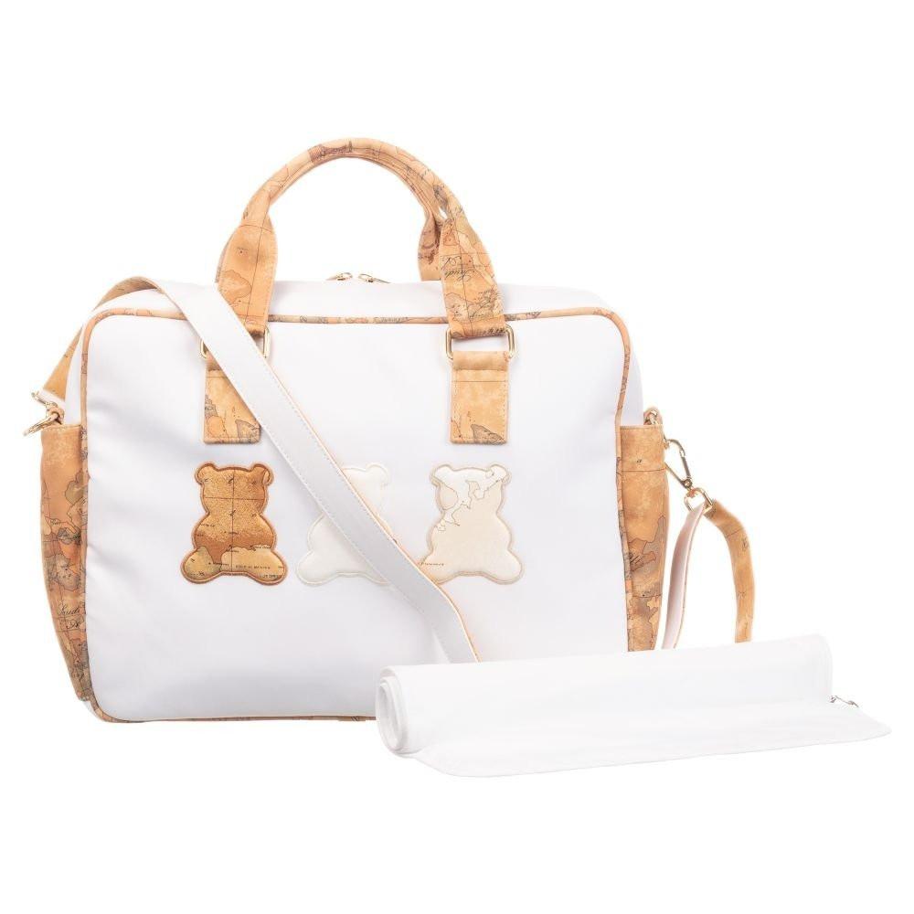 حقيبة يد باللون البيج من ماركة Alviero Martini من دوها