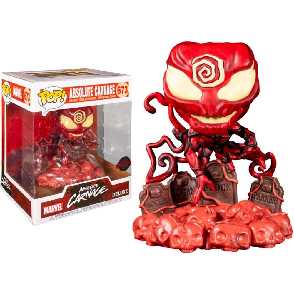 POP Deluxe Marvel Absolute Carnage on Headstone Exc
