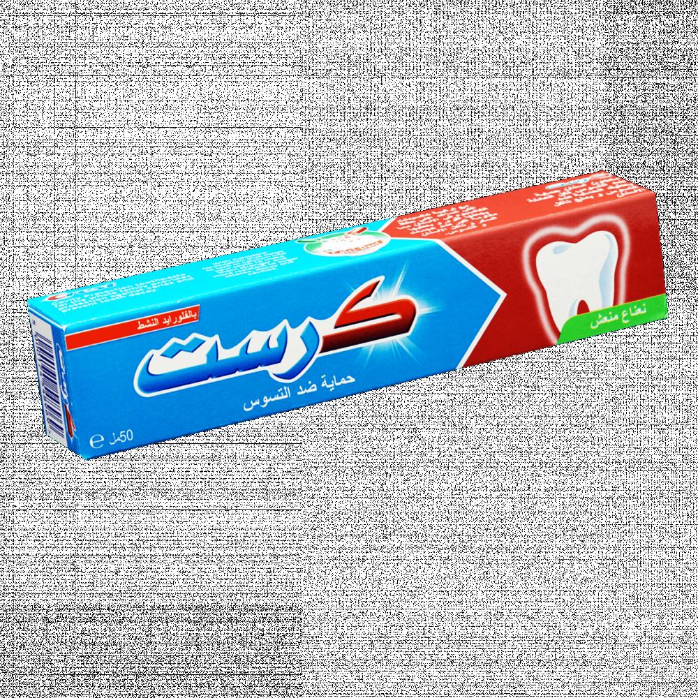 معجون اسنان بقوة النعناع المنعش كرست - 50مل