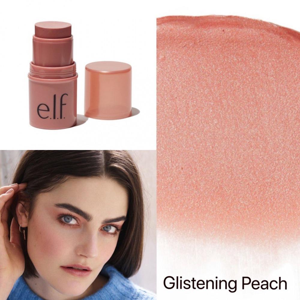 ستيك من الف elf monochromatic multi stick glistening peach