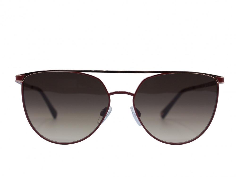 نظارة شمسية ماركة TED BAKER نساني لون العدسة بني ولون الاطار احمر وذهب