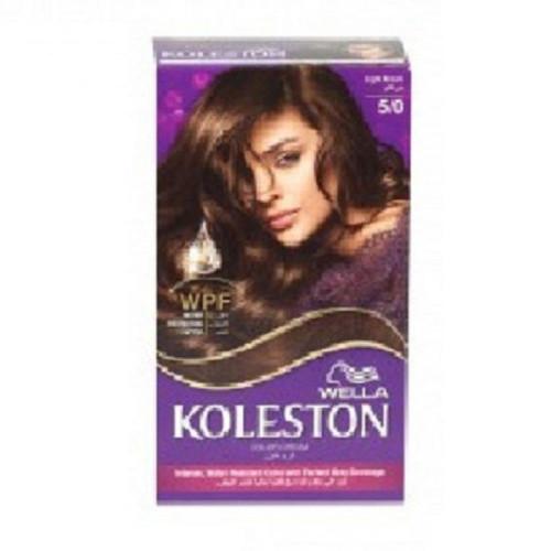 صبغة الشعر كوليستون 5 0 بني فاتح من ويلا Wella Koleston Hair Dye Kit 5 0 Light Brown ربوع الميدان Rube Almmidan