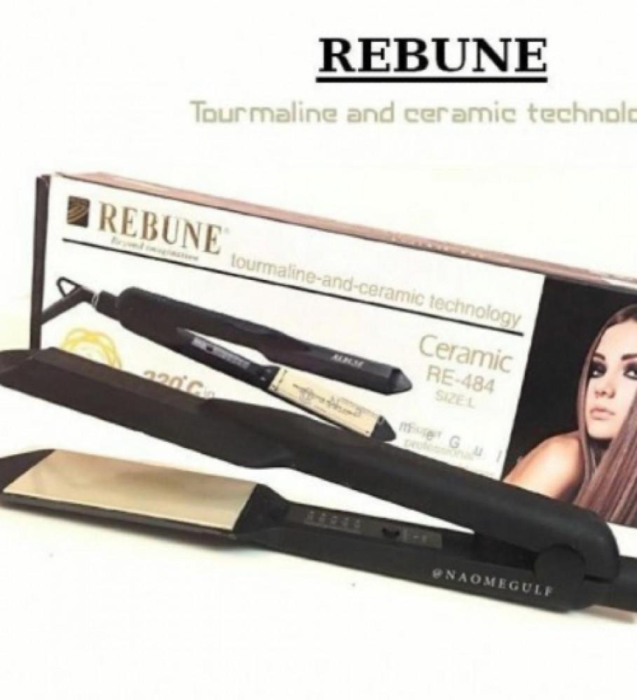ريبون سيراميك بتقنية التورمالين لتصفيف وتمليس الشعر من ريبون REBUNE