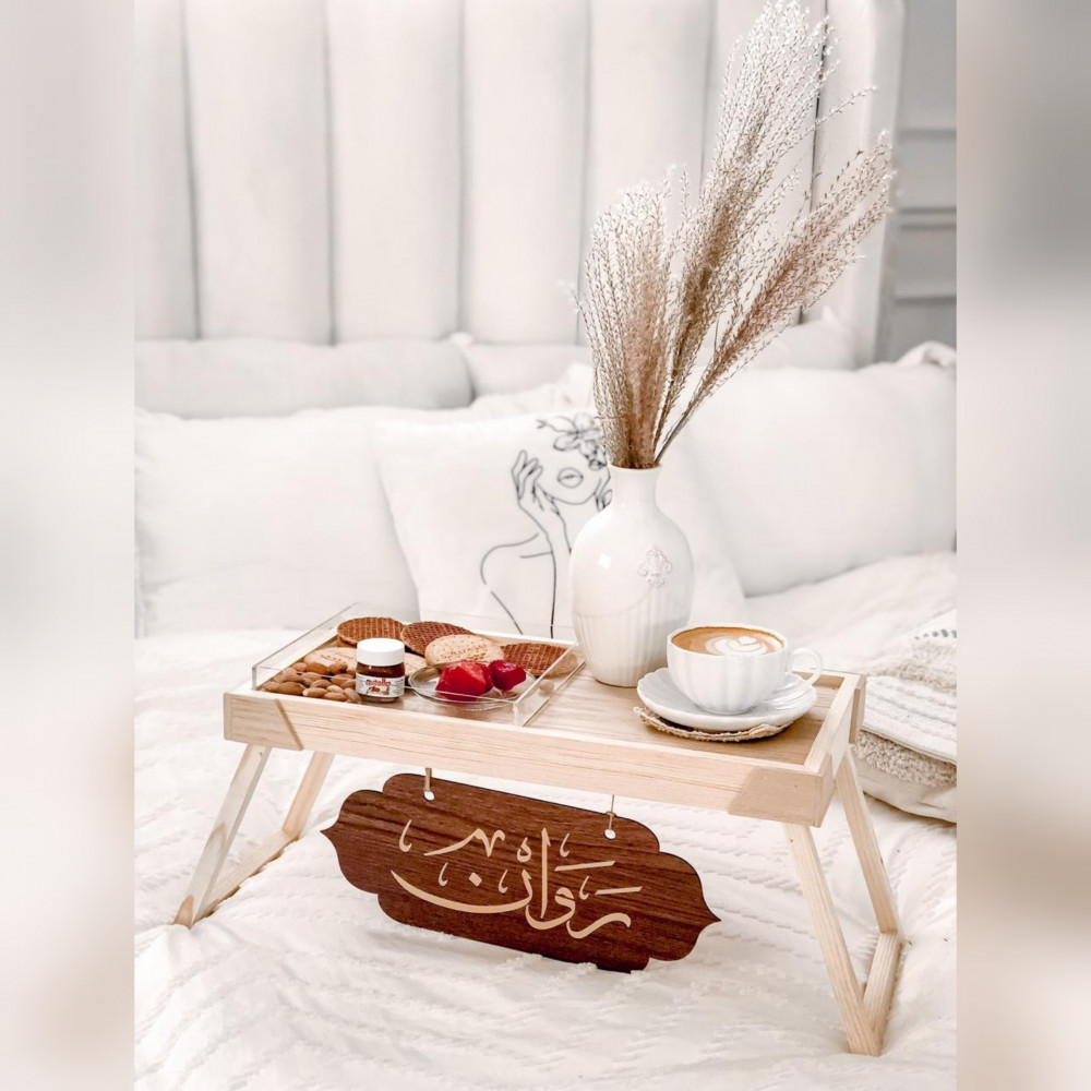 طاولات تقديم الضيافة