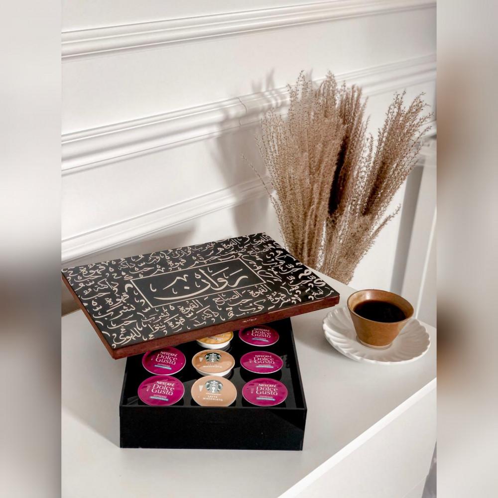 صندوق كبسولات قهوة