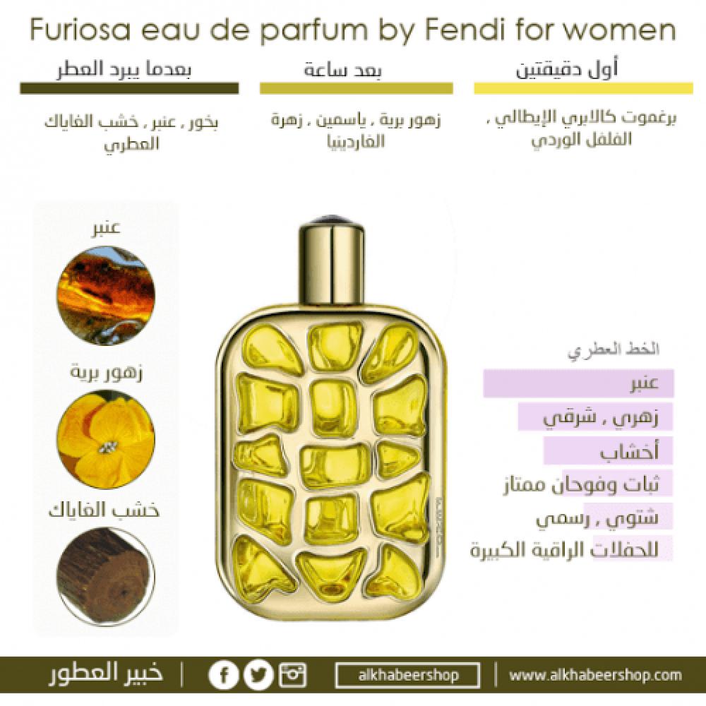 Fendi Furiosa Eau de Parfum 100ml خبير العطور