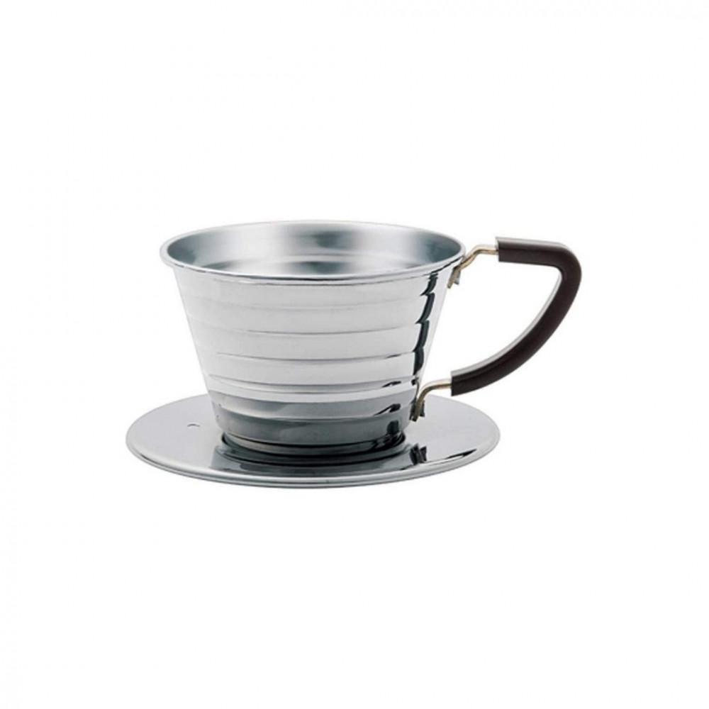 قمع ترشيح القهوة كاليتا للتقطير مقاس 155 من الستانس ستيل