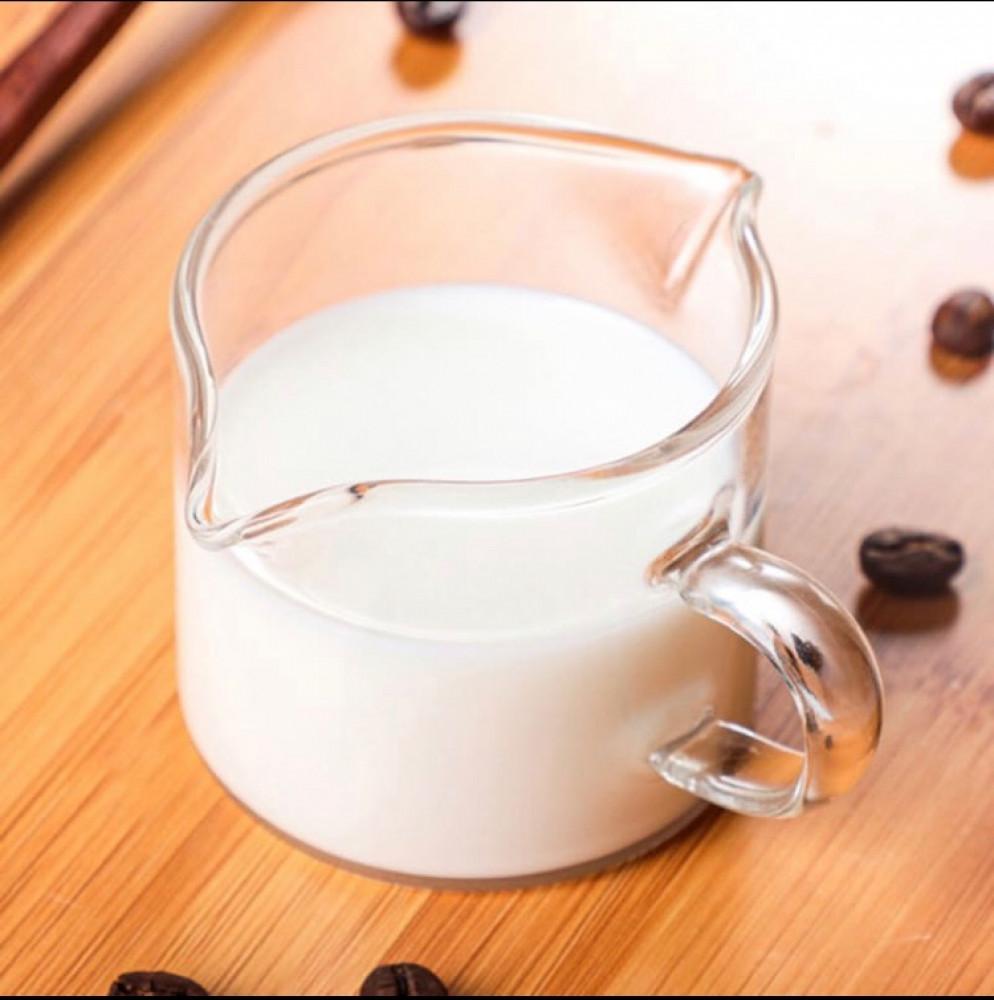 كوب زجاجي معيار للاسبريسو والحليب