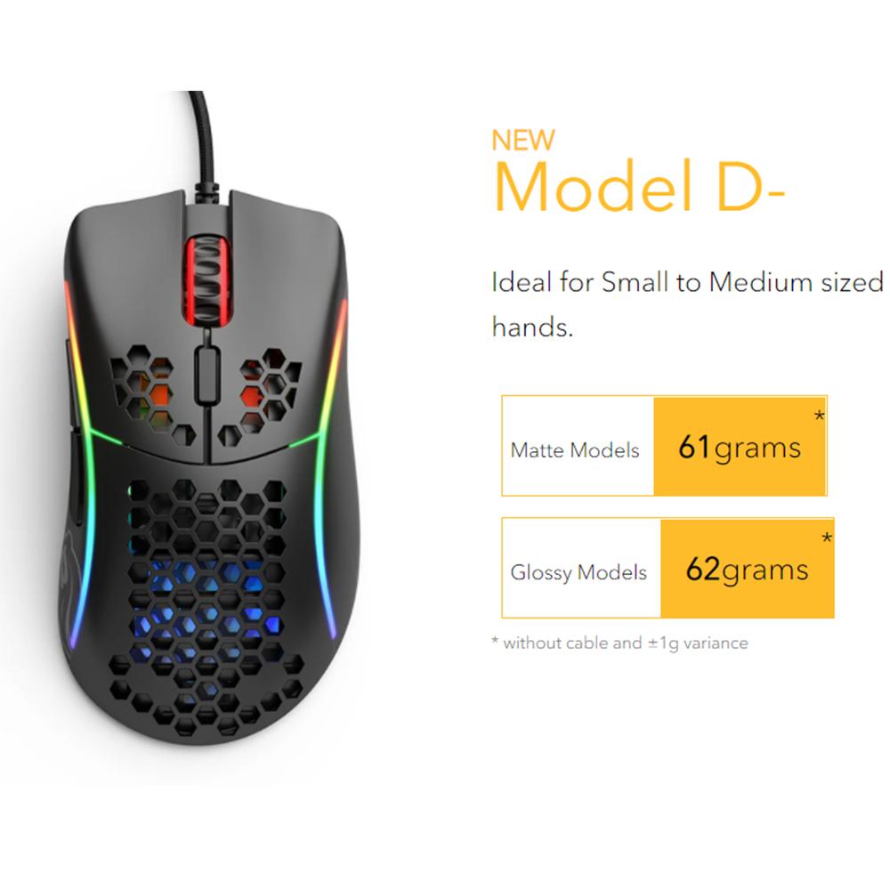Glorious Model D- Minus Matte Black