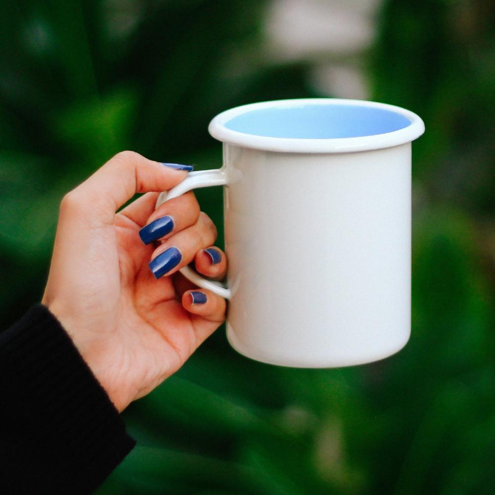 أكواب للتخييم كوب معدني أكواب المينا كوب متجر أدوات القهوة المختصة