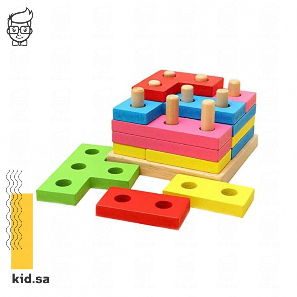 العاب ذكاء خشبية للاطفال