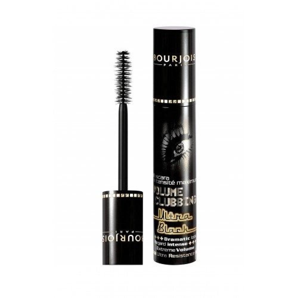 Bourjois Volume Clubbing Ultra Black Mascara 9ml متجر خبير العطور