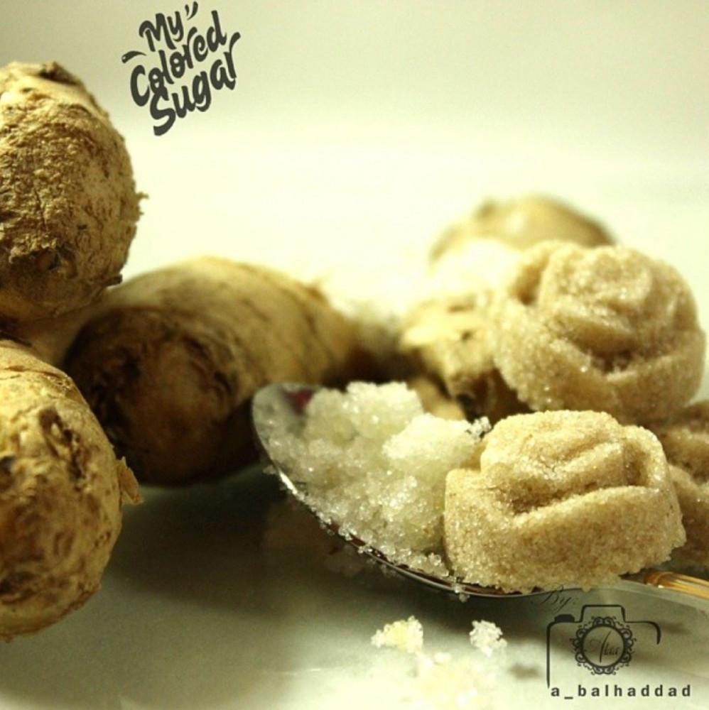 سكر بالزنجبيل قوالب سكر ضيافة بنكهة الزنجبيل الطبيعية من متجر السكر