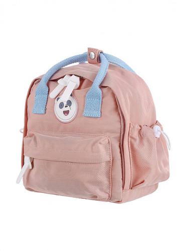 حقيبة ظهر من الدببة الثلاثة وردي باندا ميني سو Miniso حب الحياة حب ميني سو تسوق واحصل علي افضل الاسعار