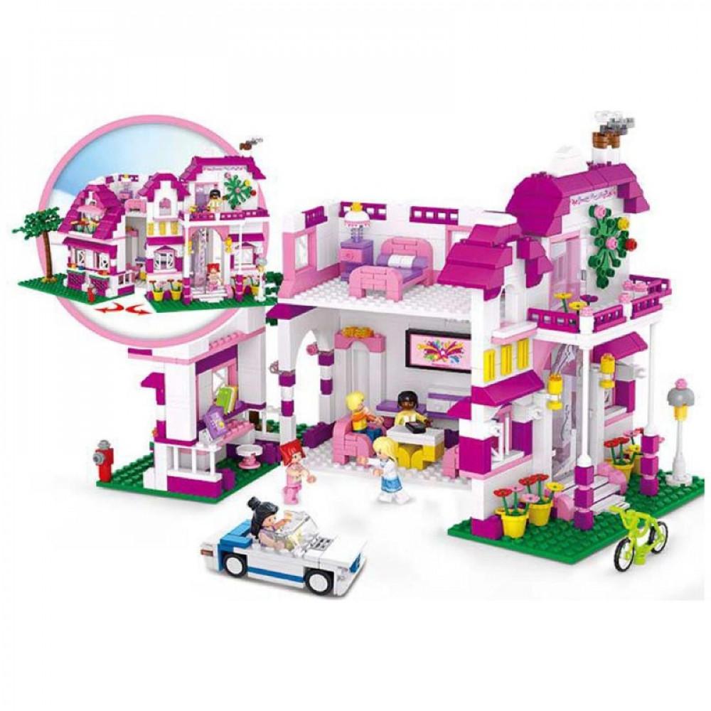 سلوبان, قطع تركيب بناتي فيلا, ألعاب, Sluban, Toys