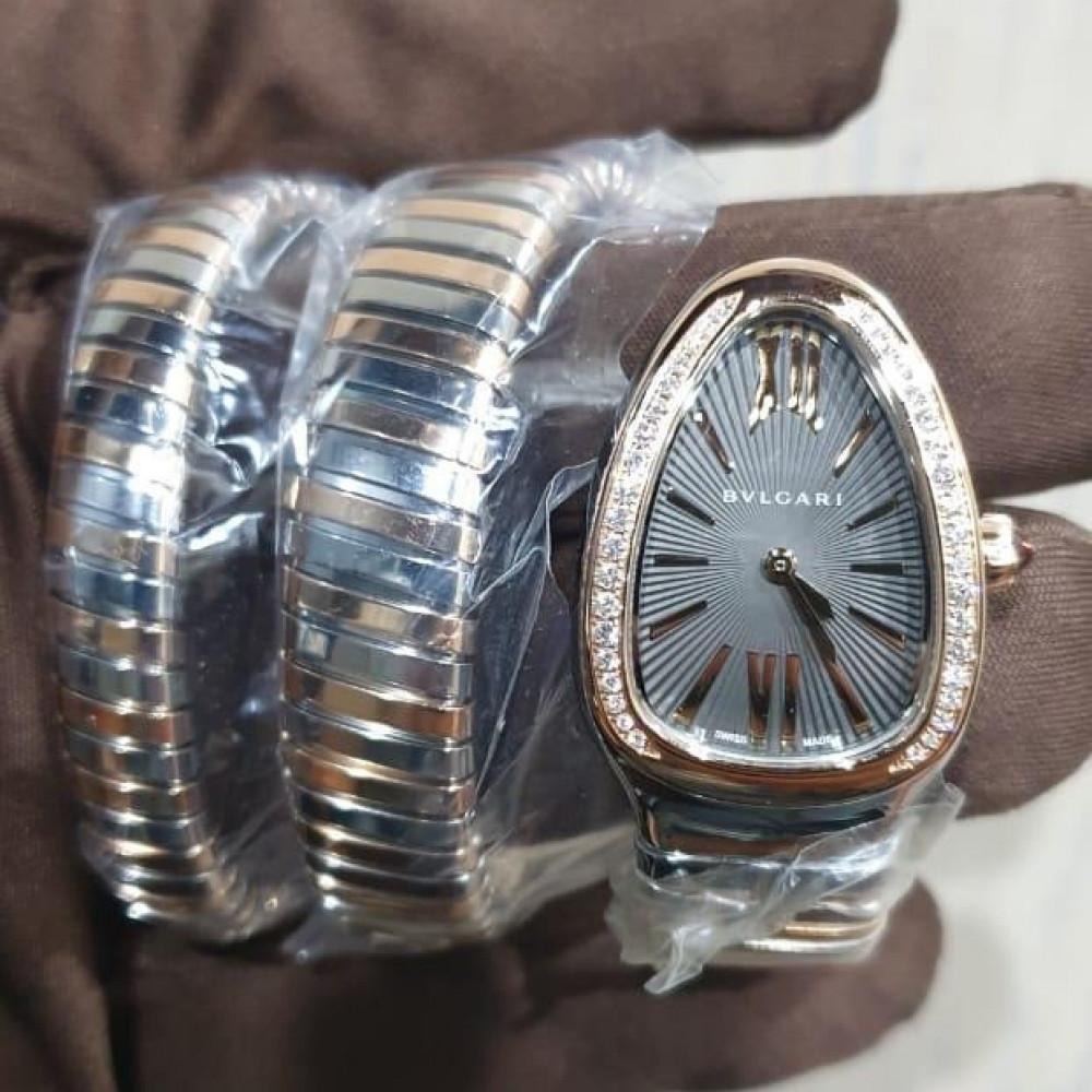 ساعة بولغري الثعبان الأصلية الفاخرة