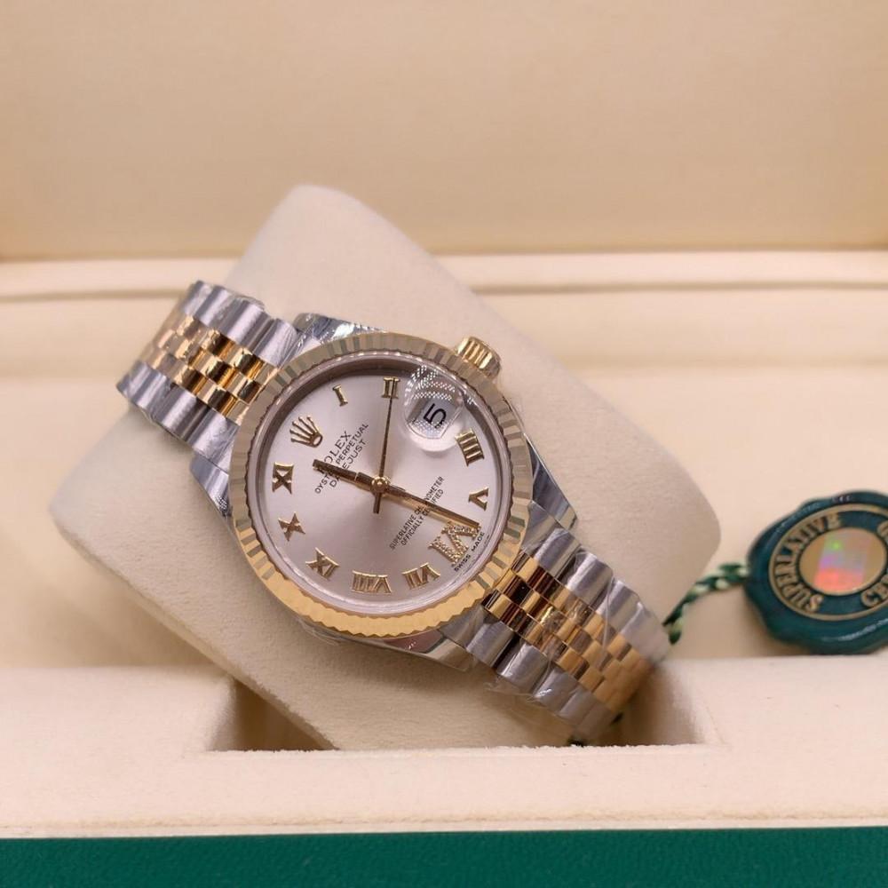 ساعة رولكس ديت جست الأصلية الفاخرة جديدة كليا 278273