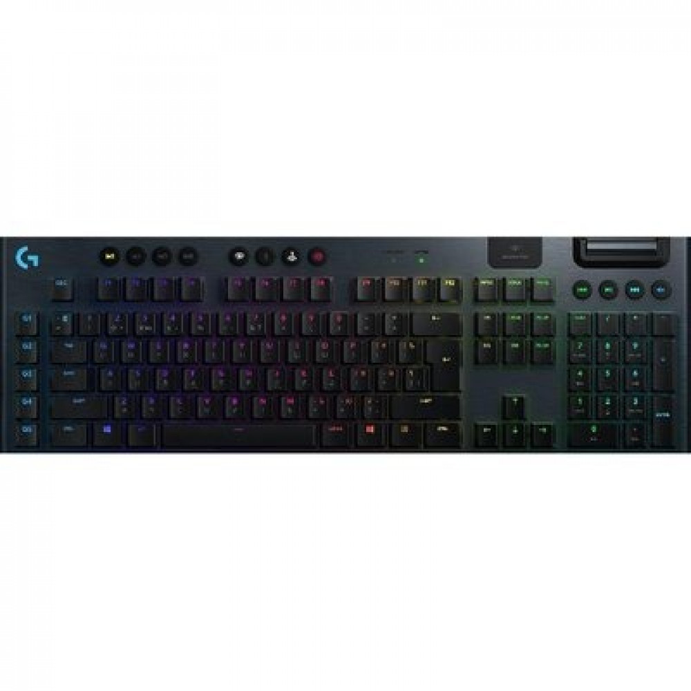 Logitech G915 Wireless RGB Mechanical Gaming Keyboard Clicky switch