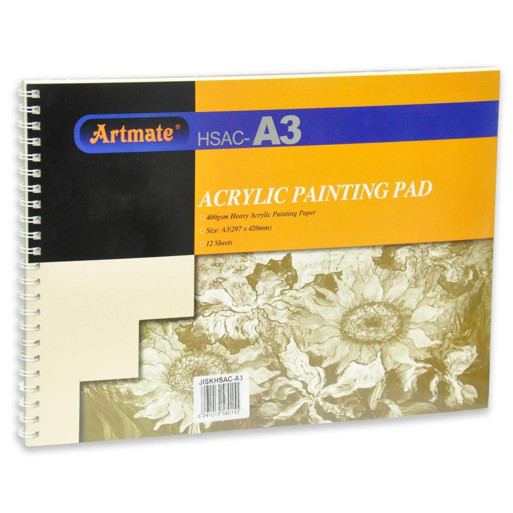 artmate  acrylic panting pad 400gsm