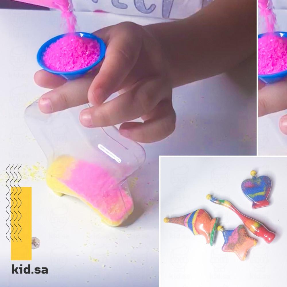 لعبة الرسم بالرمال للاطفال
