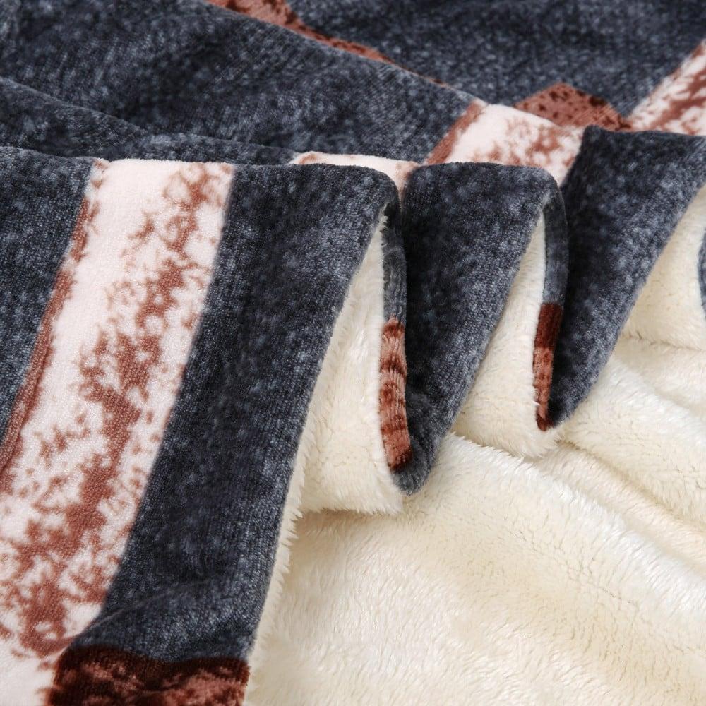 بطانية تملون فرو مشجر