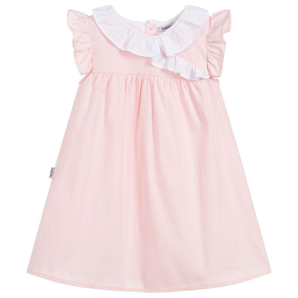 فستان باللون الزهري من ماركة babidu من دوها