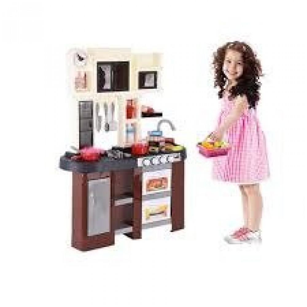 مطبخ اطفال مزود بمغسلة وفرن لعبة مغسلة المطبخ للأطفال  ألعاب مطبخ