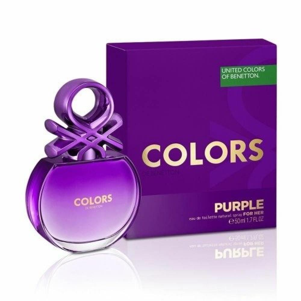 Benetton Colors de Benetton Purple Eau de Toilette 80ml خبير العطور