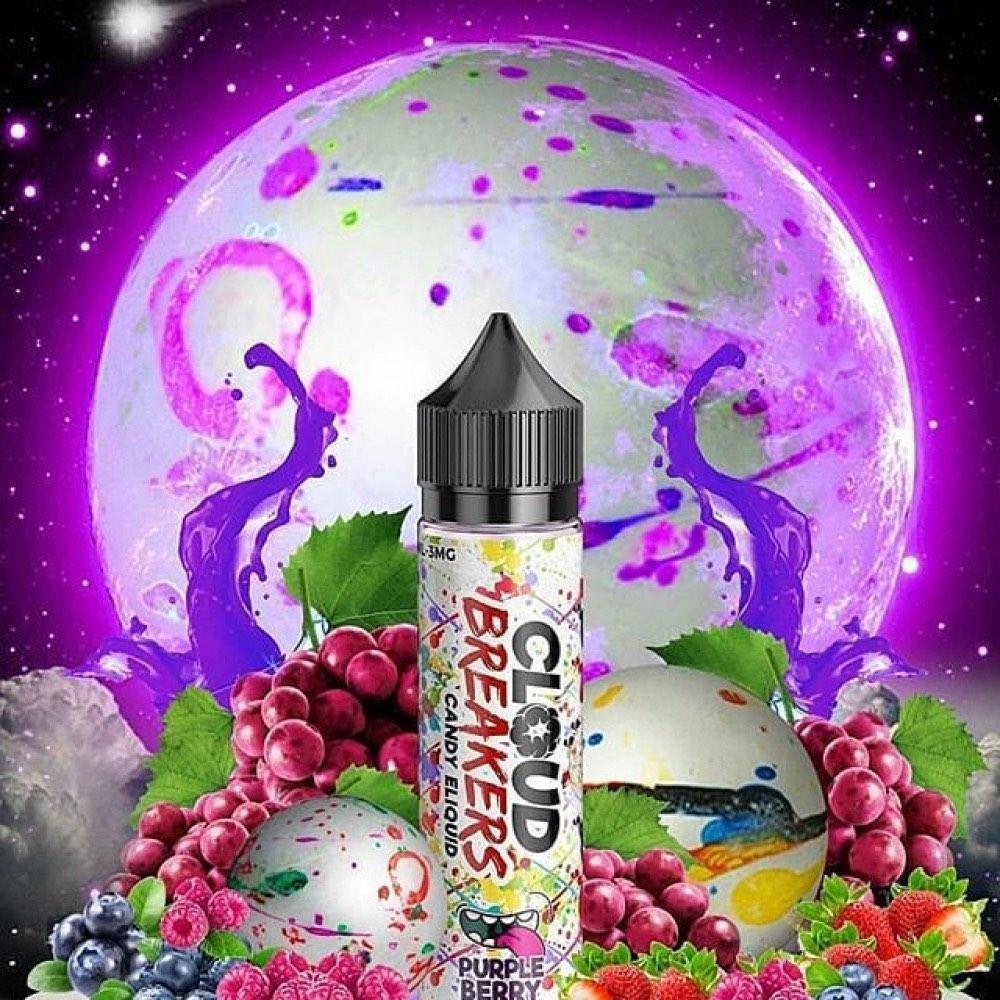 نكهة كلاود بريكرز بربل بيري عنب توت فراولةCloud Breakers Purple Berry