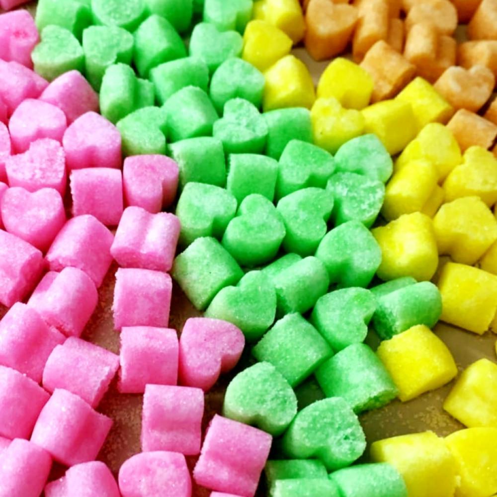 سكر ملون قوالب سكر ضيافة ملونة من متجر السكر
