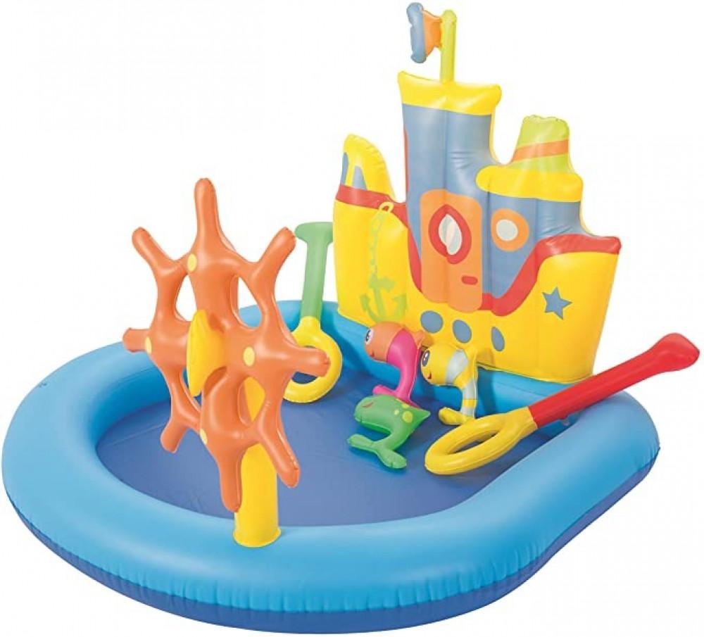 مسبح السفينة ألعاب مائية خارجية bestway