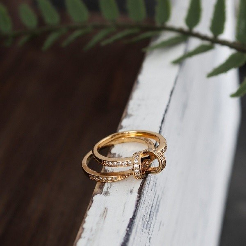 خاتم كارتير ذهبي