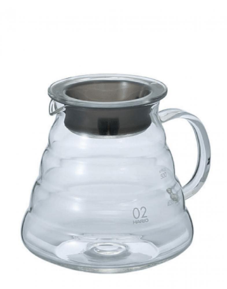 إبريق التقديم الزجاجي أداوات تحضير القهوة