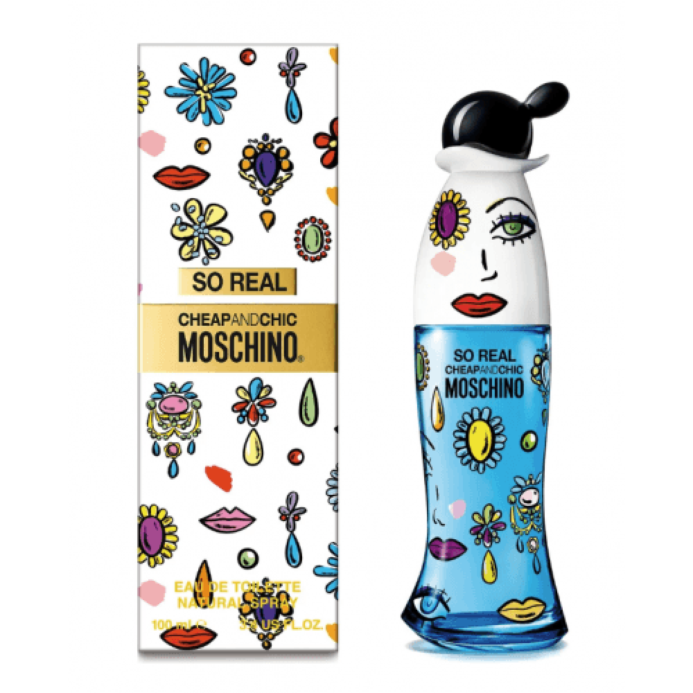 Moschino Cheap and Chic So Real Eau de Toilette 100ml متجر خبير العطور