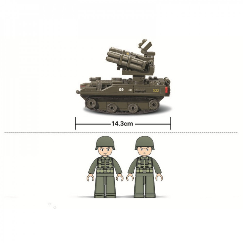 سلوبان, قطع تركيب سلاح المدرعات واطلاق الصواريخ, ألعاب, Toys, Sluban