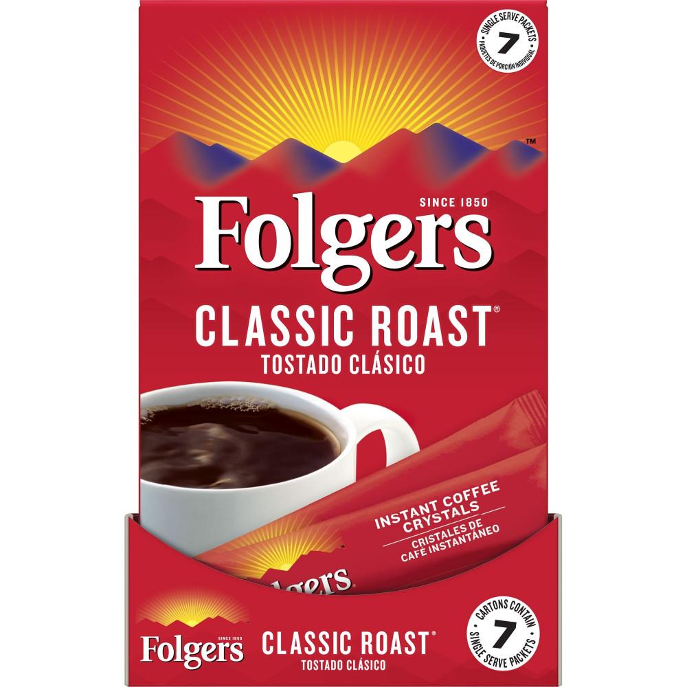 اكياس قهوة فورية من فولجرز
