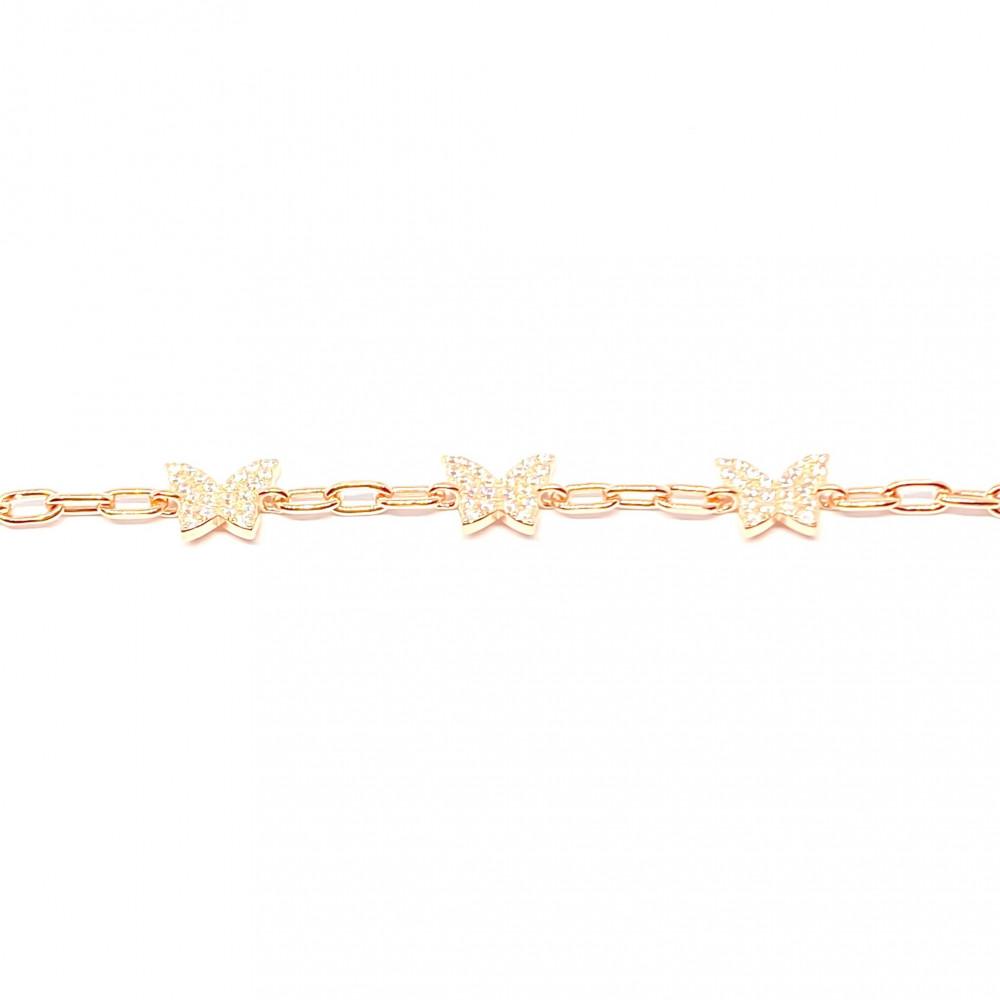 اسواره فراشات زنجير butterflies chain bracelet