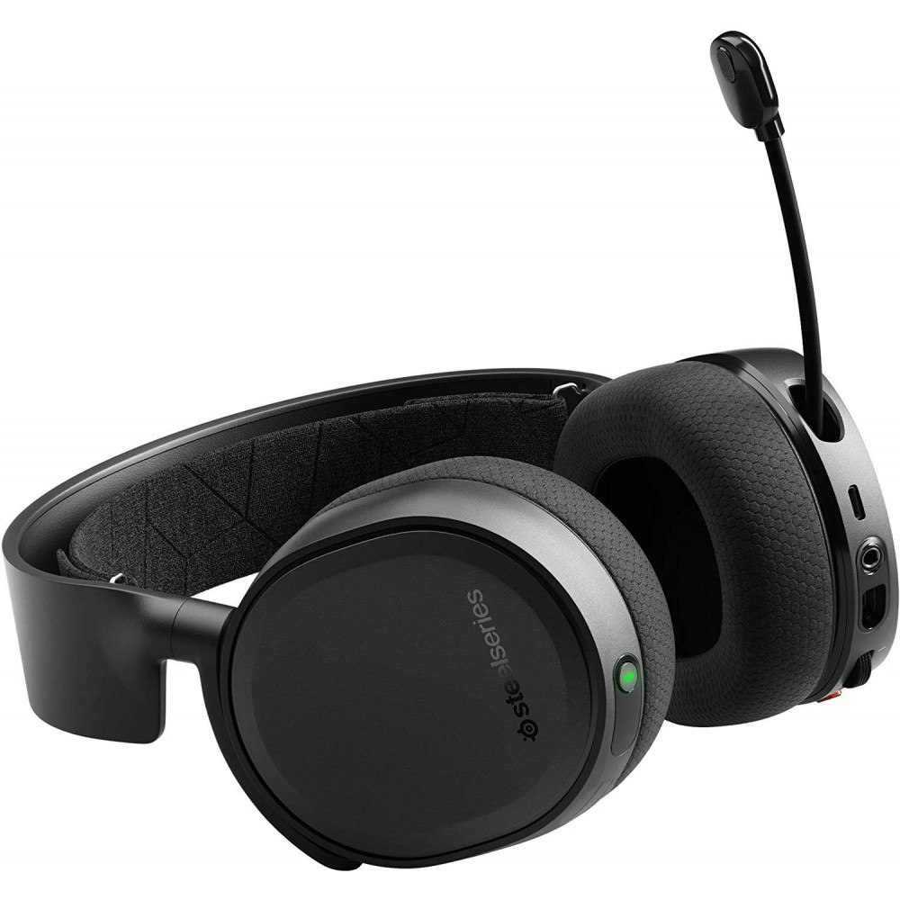 SteelSeries Arctis 3 Bluetooth - Wired and Wireless Gaming Headset - 2