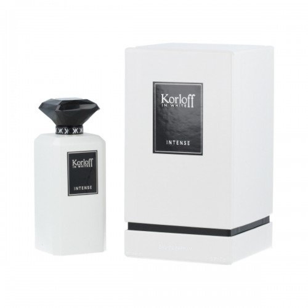 Korloff In White Intense Eau de Parfum 88ml خبير العطور