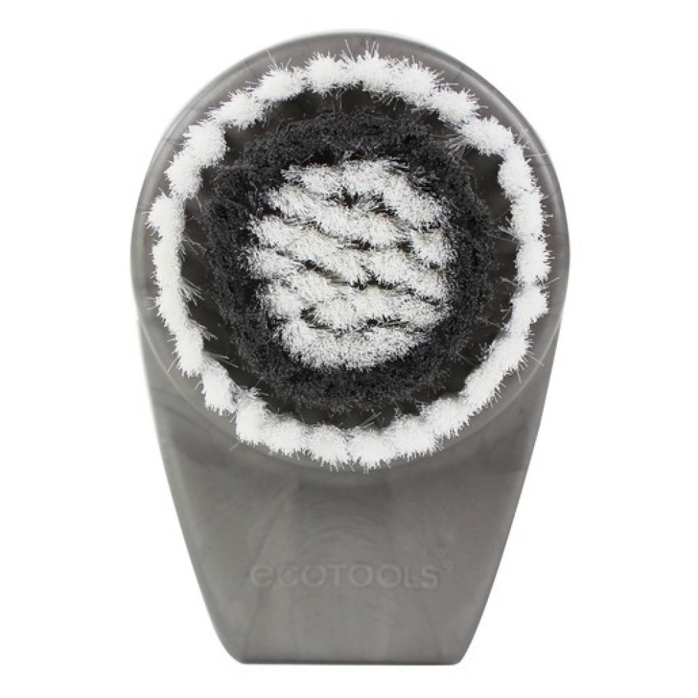 EcoTools فرشاة ناعمة لتنظيف وتقشير الوجة افضل فرشاة لتنظيف الوجة