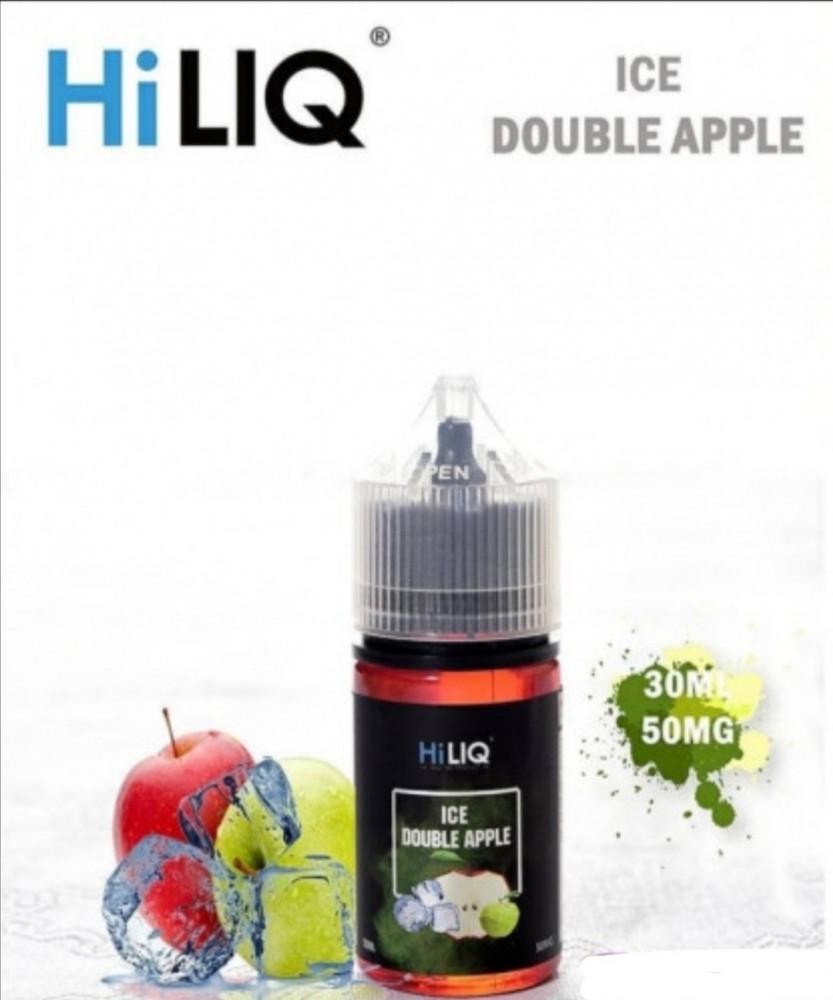 سولت تفاحتين ايس من هاي لك Hiliq ice double apple 50 mg
