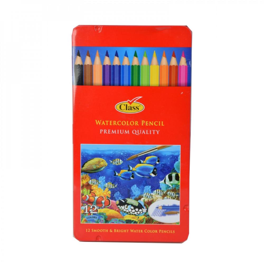 ألوان خشبية مائية, كلاس, قرطاسية, Class, Stationery