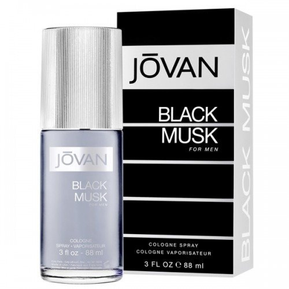 Jovan Black Musk for Men Eau de Cologne 88ml خبير العطور