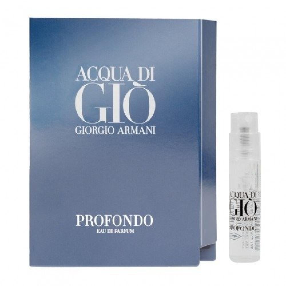 Armani Acqua Di Gio Profondo for Men Eau de Parfum Sample 1-2ml خبير ا