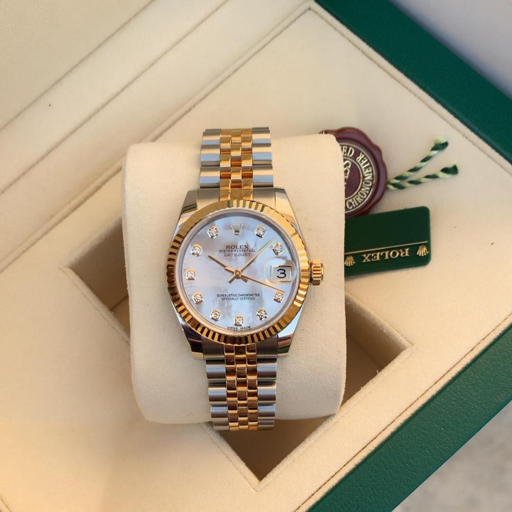 ساعة رولكس ديت جست الأصلية الثمينة  178273