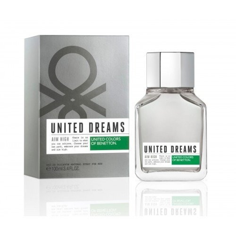 Benetton United Dreams Aim High Eau de Toilette 100ml
