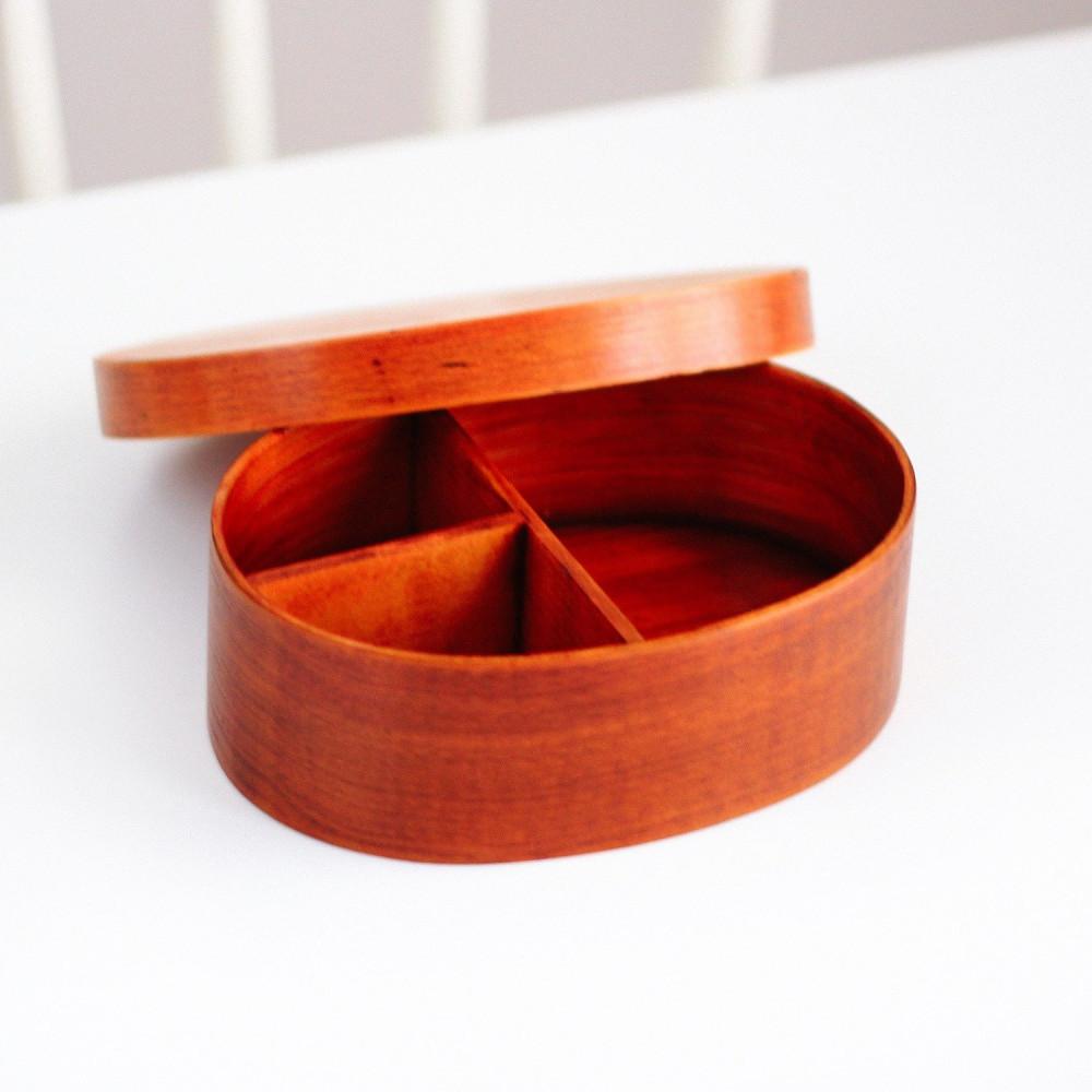 تسوق لانش بوكس خشب بينتو يابان صندوق غداء خشب ياباني حافظة طعام غذاء